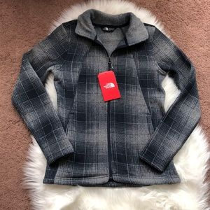 The North Face Crescent Full zip XS Ombré Plaid